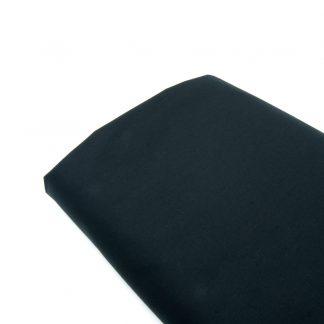 Tela popelín liso suave en color negro