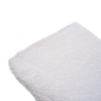 Tela de rizo de toalla en color blanco