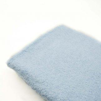 Tela de rizo de toalla en color azul