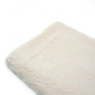 Tela de rizo de toalla en color crudo