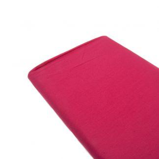 Tela de popelín 100% algodón en color liso fucsia claro