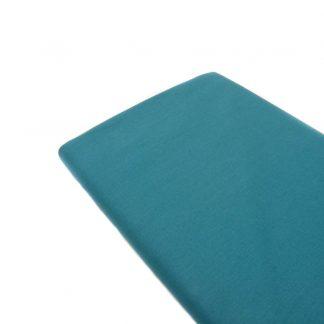 Tela de popelín 100% algodón en color liso agua marina
