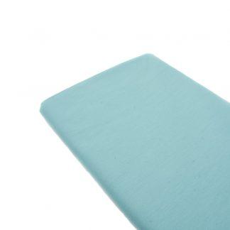 Tela de popelín 100% algodón en color liso verde agua