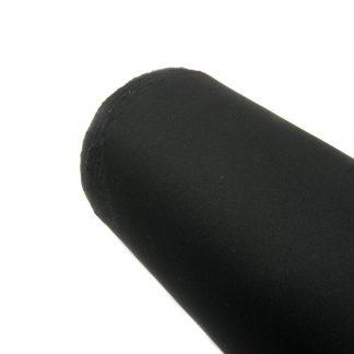 Tela de neopreno en color liso negro
