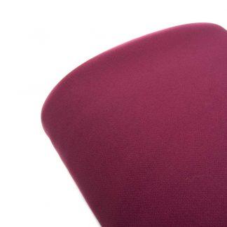 Tela bielástico en color liso ciruela