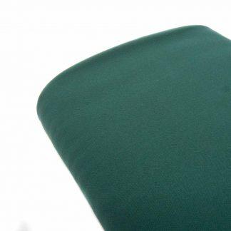 Tela bielástico en color liso verde jade