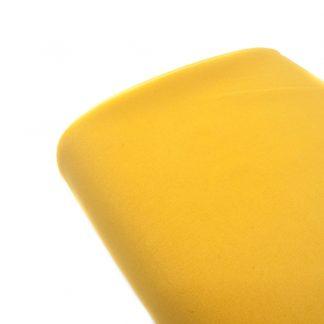 Tela bielástico en color liso mostaza