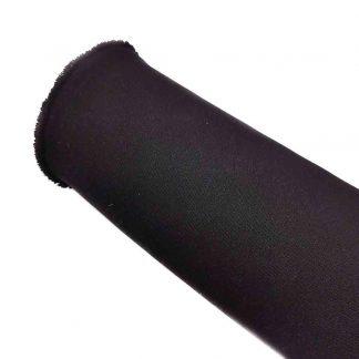 Tela strech en color liso negro