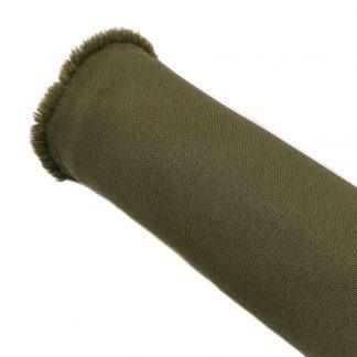 Tela strech en color liso verde kaki
