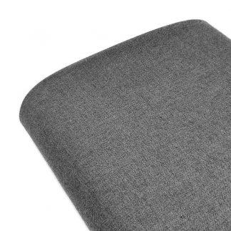 Tela de sarga lisa en color gris