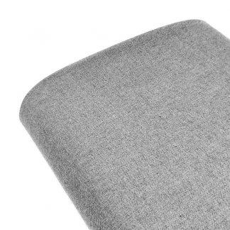Tela de sarga lisa en color gris claro