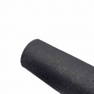 Entretela adhesiva rígida negra de algodón