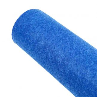 Tela de fieltro azulón