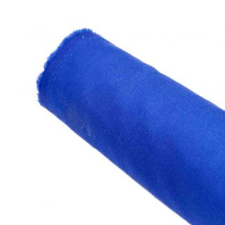 Tela de popelín azulón especial para coser prendas y complementos con cuerpo, vestidos de flamenca, hogar