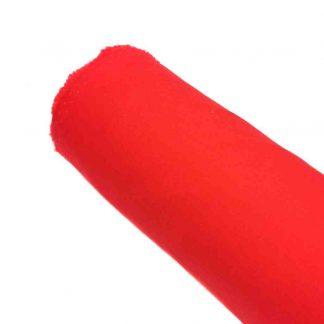 Tela de popelín rojo especial para coser prendas y complementos con cuerpo, vestidos de flamenca, hogar