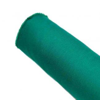 Tela de popelín verde quirófano especial para coser prendas y complementos con cuerpo, vestidos de flamenca, hogar