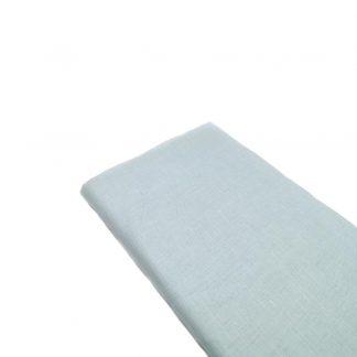Tela de lino color azul celeste