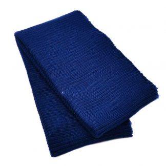 Cinturilla de punto en color azul marino claro