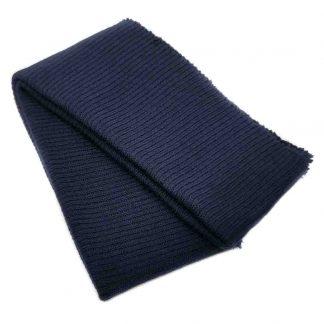 Cinturilla de punto en color azul marino oscuro