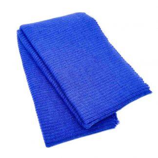 Cinturilla de punto en color azulón