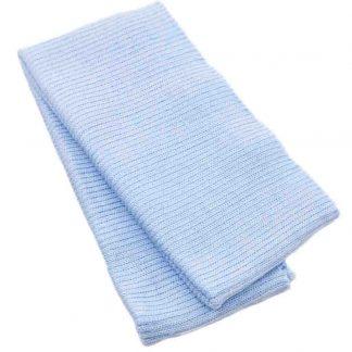 Cinturilla de punto en color azul celeste