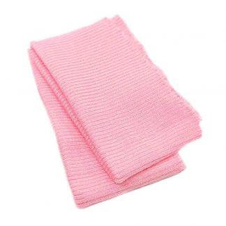 Cinturilla de punto en color rosa