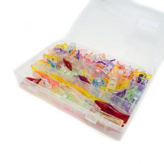 Caja organizadora pinzas costura
