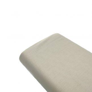 Tela de forro de algodón en color piedra