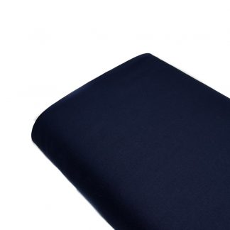 Tela de forro de algodón en color azul marino