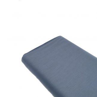 Tela de forro de algodón en color azul azafata