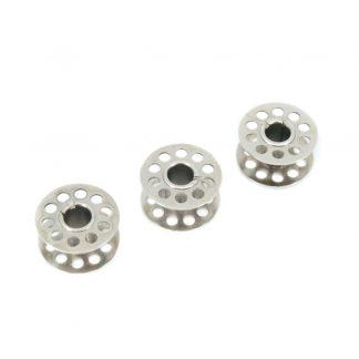 Canillas metálicas para máquinas de coser