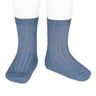 Calcetines Cortos Canalé