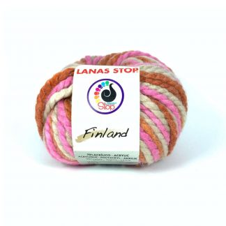 Lana multicolor de tejer modelo Finland de la marca Lanas Stop