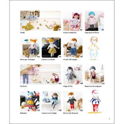 Libro muñecas de tela de la editorial DRAC