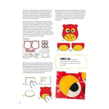 Libro simpáticos y originales muñecos de tela de la editorial DRAC