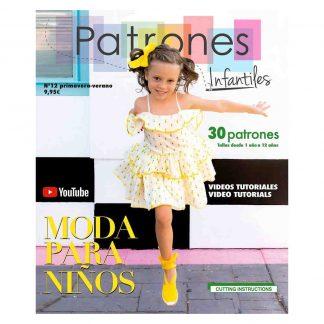 Revista de moda infantil para primavera y verano Patrones Infantiles número 12