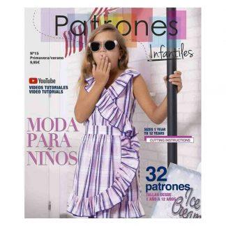Revista patrones infantiles nº 15 Primavera-Verano 2.021