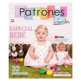 Revista Patrones Infantiles número 16 Especial Bebé 2021