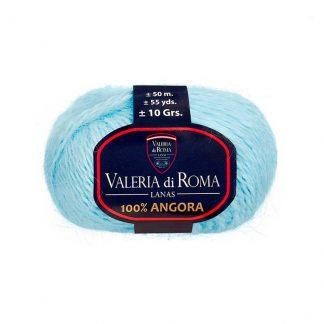 Ovillo para tejer de angora modelo 100% Angora de la marca Valeria Lanas