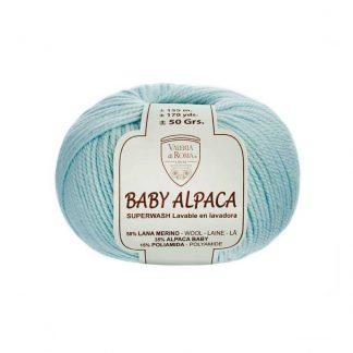 Ovillo de lana para tejer modelo Baby Alpaca de la marca Valeria Lanas