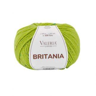 Ovillo de lana para tejer modelo Britania de la marca Valeria Lanas