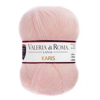 Ovillo para tejer modelo Karis de la marca Valeria Lanas