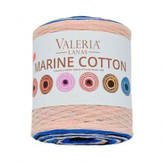Ovillo de tejer modelo Marine Cotton de la marca Valeria Lanas