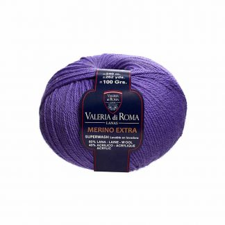 Ovillo de lana para tejer modelo Merino Extra de la marca Valeria Lanas