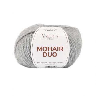Ovillo de lana para tejer modelo Mohair Duo de la marca Valeria Lanas