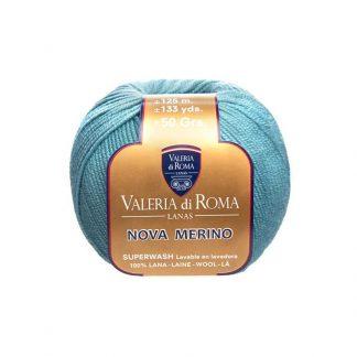 Ovillo de lana para tejer modelo Nova Merino de la marca Valeria Lanas