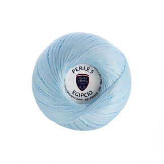 Ovillo de algodón para tejer de la marca Valeria Lanas modelo Perlé 5 Egipcio