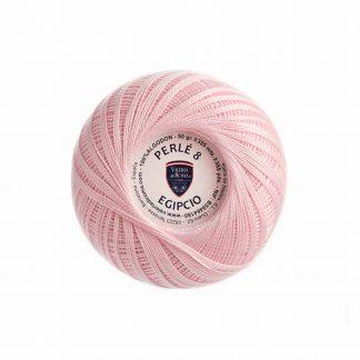 Ovillo de algodón para tejer de la marca Valeria Lanas modelo Perlé 8 Egipcio
