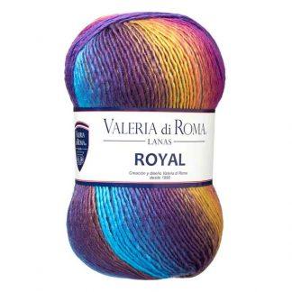 Ovillo de lana para tejer modelo Royal de la marca Valeria Lanas