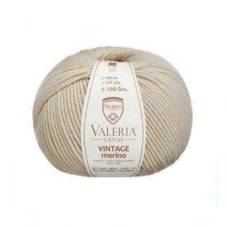 Lana para tejer Vintage Merino de la marca Valeria Lanas